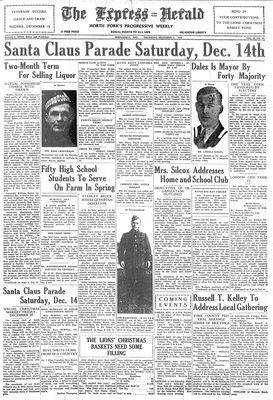 Express Herald (Newmarket, ON), December 5, 1940