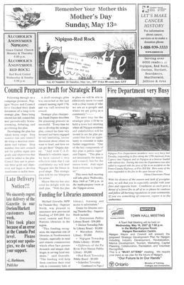 Nipigon Red-Rock Gazette, 1 May 2007