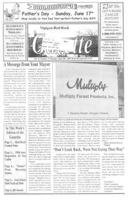 Nipigon Red-Rock Gazette, 5 Jun 2007