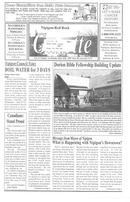Nipigon Red-Rock Gazette, 26 Jun 2007