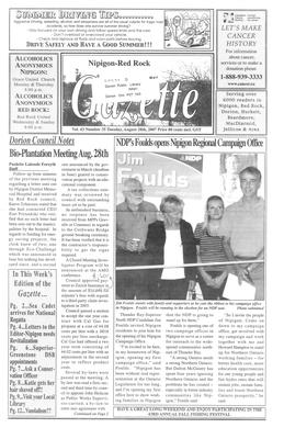 Nipigon Red-Rock Gazette, 28 Aug 2007