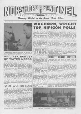 Norshore Sentinel (Nipigon, ON), 27 Jan 1961
