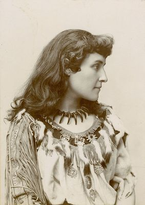 Vanguards of Society: Pauline Johnson (two page)