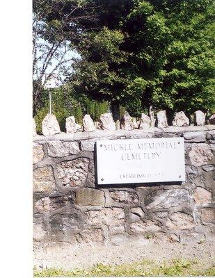 Mickle Memorial Cemetery