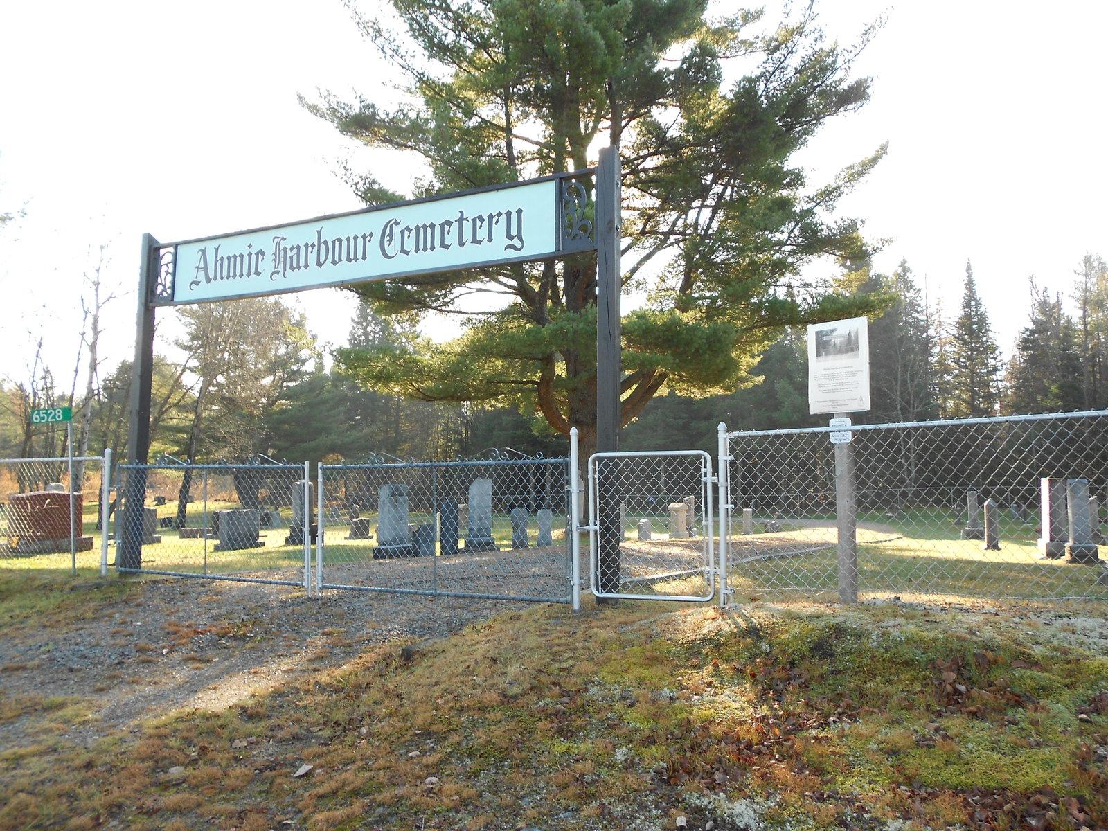 Ahmic Harbour Cemetery