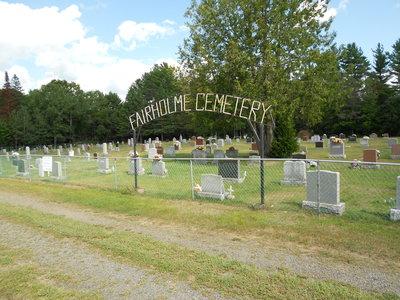 Fairholme Cemetery
