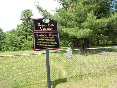 Seguin Falls Cemetery
