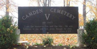 Camden V Cemetery
