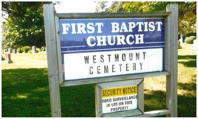 Westmount Baptist Cemetery
