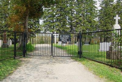 St. Peter's Roman Catholic Cemetery