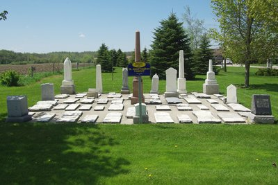 St. Johns Anglican and Medill Baptist Cemetery