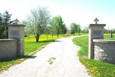 St. John the Evanglist Roman Catholic Cemetery