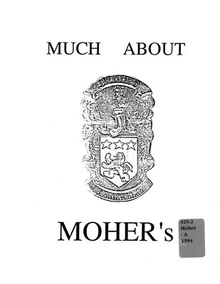 Much about Moher's : Moher lineage