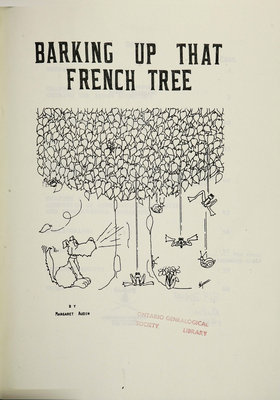 Barking up that French tree