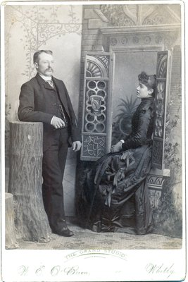 Mystery Photo: Unidentified Couple