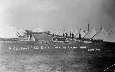 Sarcee Camp 1916, Calgary, Alberta