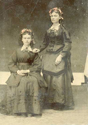 Anna Ellis and Sister (name unknown)