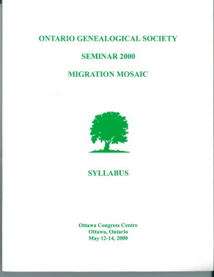 OGS Conference 2000: Migration Mosaic