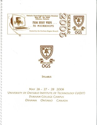 OGS Conference 2006: From Buggy Whips to Microchips