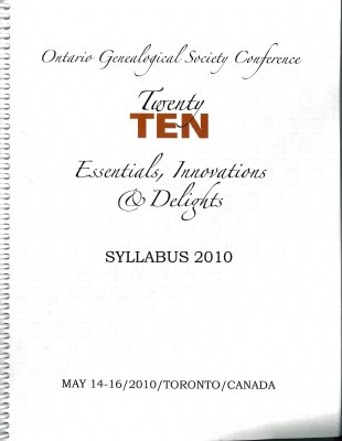 OGS Conference 2010: Essentials, Innovations & Delights