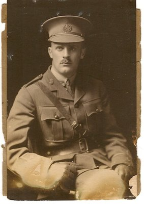 Charles John Nairne Lee, 1916, before going overseas.