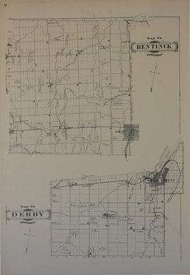Bruce & Grey Historic Atlas: Maps of Bentinck and Derby Townships
