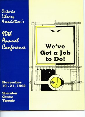 We've got a job to do! 90th annual conference program 1992
