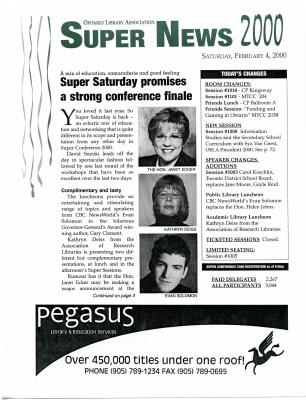 OLA Super News: Saturday, February 4, 2000