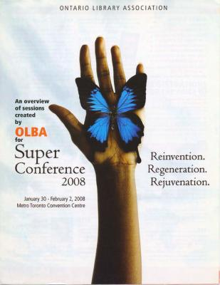 OLA Super Conference 2008: An overview of sessions created by OLBA