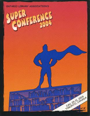 OLA Super Conference 2004 flyer