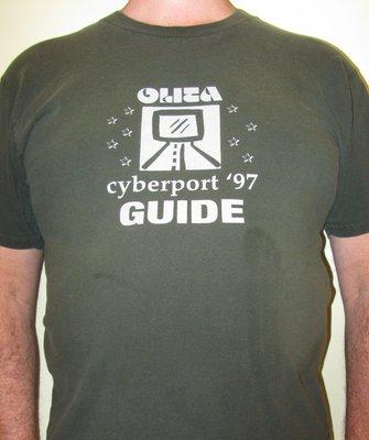 OLITA Cyberport 1997 Guide tshirt