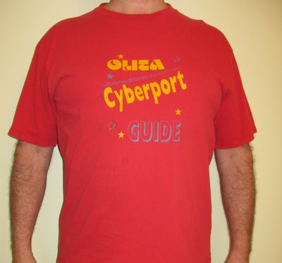 OLITA Cyberport Guide 1996 tshirt