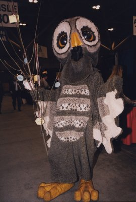A mascot at the 2000 Super Conference Expo