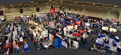 Exhibit Hall, SuperConference 2014