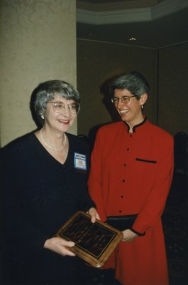Wendy Kennedy and Catherine Quinlan at Super Conference 1997