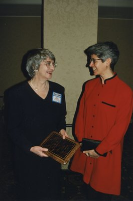 Wendy Kennedy and Catherine Quinlin at Super Conference 1997