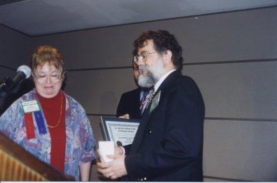 Ceremony for OLITA award winner