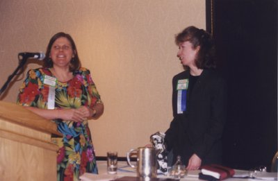 Leila Wallenius and Vivian Lewis