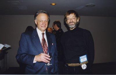 John Polanyi and Conrad Reitz at Super Conference 1998