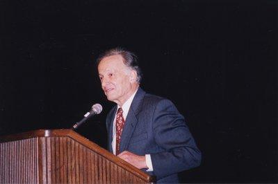 John Polanyi at Super Conference 1998