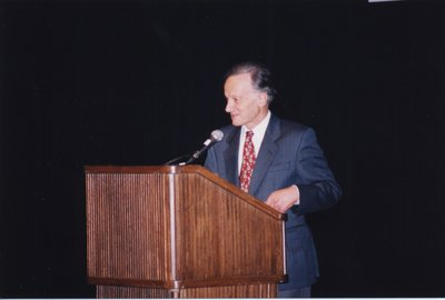John Polanyi at Super Conference 1998