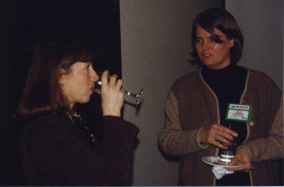 Vivian Lewis and Isla Jordan