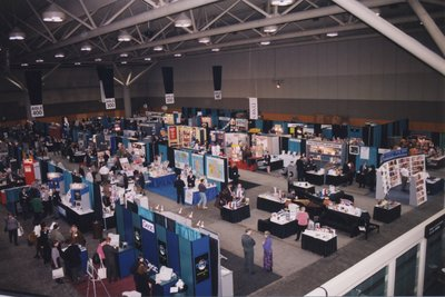 The Expo floor at Super Conference 1998