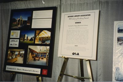 Library Building Awards at Super Conference 1998