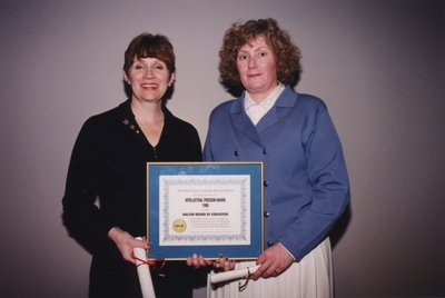 Winners of the Intellectual Freedom Award at Super Conference 1998