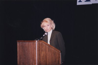 Minister of Culture, Isabel Bassett, at Super Conference 1998