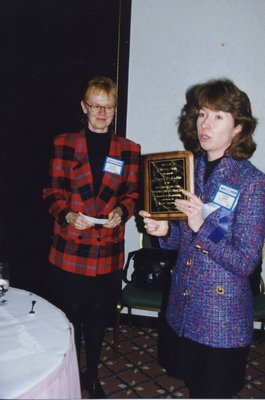 Gloria Leckie and Vivian Lewis at Super Conference 1998