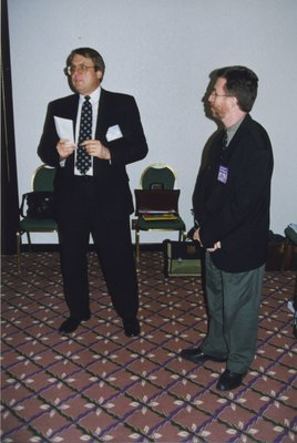 John Lumsden and Don Spanner at Super Conference 1998