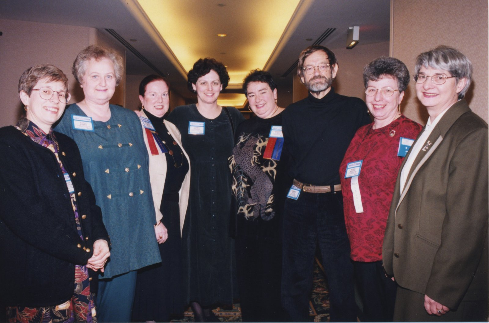 OCULA past presidents at Super Conference 1999
