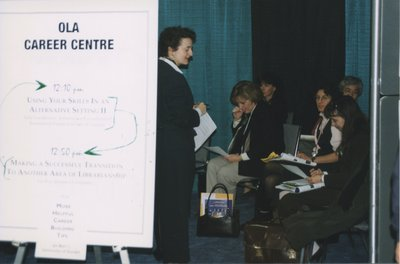 OLA Career Center at Super Conference 1999